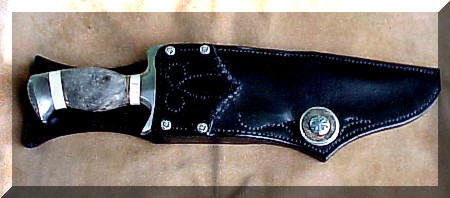Buckeye Bowie in sheath