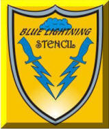 Blue Lightning Top Logo